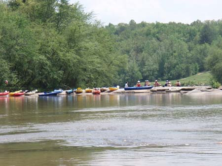 Kayaking In Northeast Georgia On The Broad River
